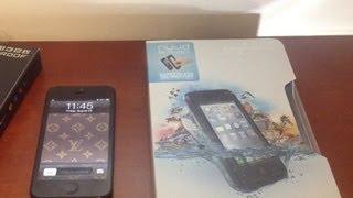 Best IPhone 5S Waterproof Case!! LifeProof Nuud Review