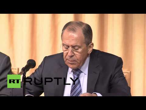 "Russia: Lavrov slams ""NATO's creeping expansion"""