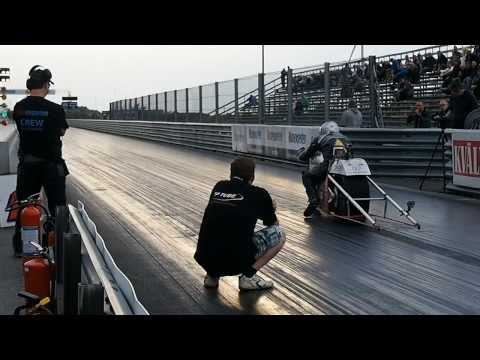 Electric Dragbike Silver Bullitt 2013 Sideways Season HD