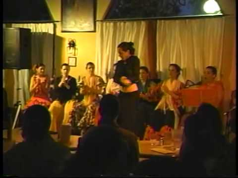 Conte de Loyo Flamenco Theatre (1990's) exerpts at De Tapas