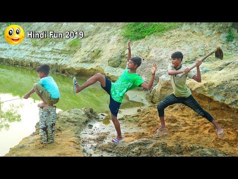 Indian New funny Video😄-😅Hindi Comedy Videos 2019-Episode-63--Indian Fun || ME Tv