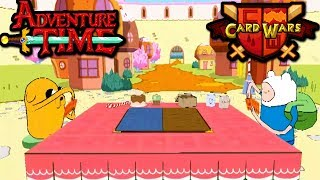 Card wars adventure time candy kingdom battle episode 17 gameplay