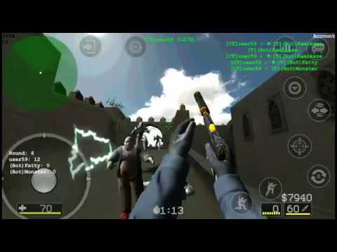 Cs Portable mod CS:GO android gameplay.