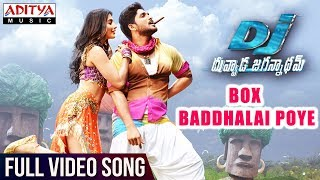 Box Baddhalai Poye Full Video Song