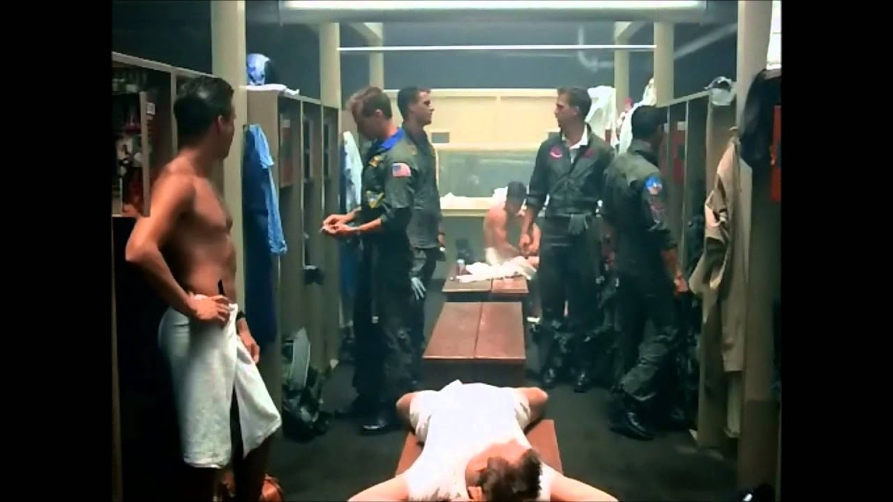 Top Gun Shower Scene Youtube