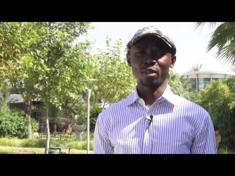 International Student Lawal from Nigeria (English)