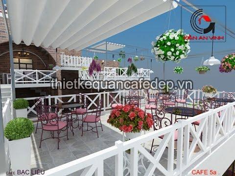 Thiết kế quán cà phê sân vườn đẹp cuốn hút - Kiến An Vinh