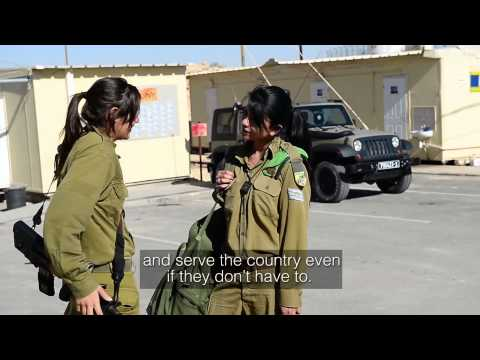 Female Arab Soldier   I Came to Serve My Country and My Home