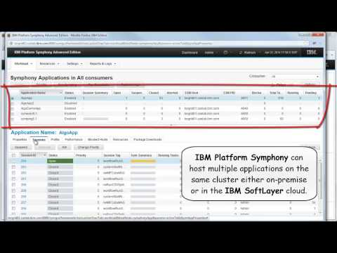 IBM Algorithmics and the IBM Platform Computing Cloud Service