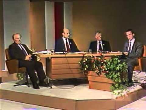 Зянон Пазьняк і каманда на БТ (1994) ч.1.