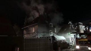 NRWspot.de | Lünen-Horstmar – Wohnhaus brannte in voller Ausdehnung