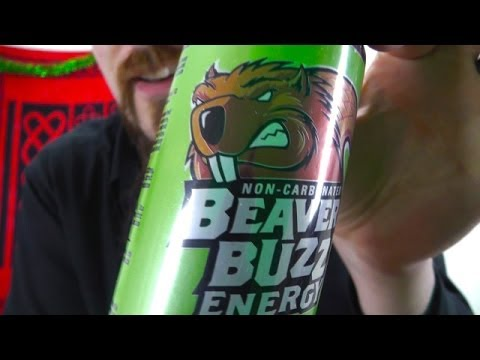 The most Canadian energy drink: Beaver Buzz