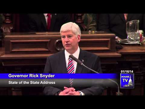 Welcoming Immigrants to Michigan - Governor Rick Snyder's 2014 State of the State Address