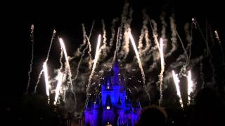 Walt Disney World Wishes Fireworks 2011 HD New