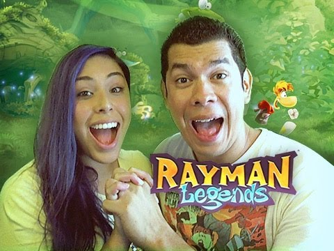 """AMAZING TEAMWORK"" Rayman Legends (Noobyweds)"