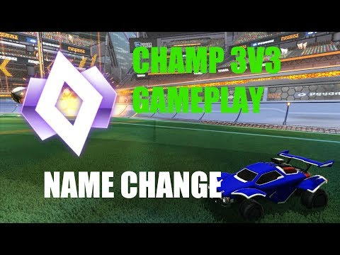 [Rocket League] (Icehawks21) Name Change/ 5 Decrypter Crate Opening/ CHAMP 3V3 GAMEPLAY