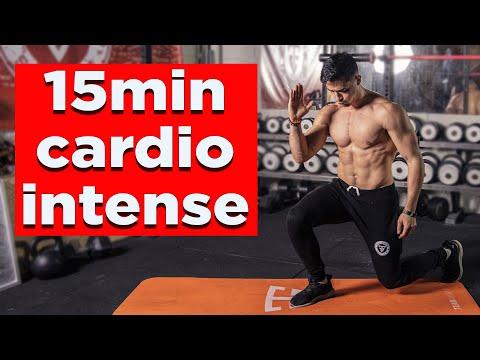 15 minutes cardio brûle-graisse intensif ! (sans matériel à la maison)