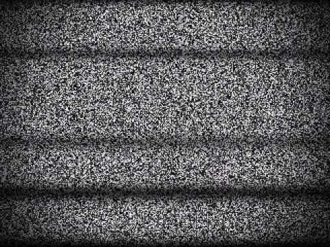 Tv Static Stock Video Youtube