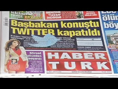"Turkey's president slams Twitter ban as ""unacceptable"""