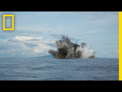 "Robot vs. Volcano: ""Sometimes It's Just Fun to Blow Stuff Up"" (Exclusive) 