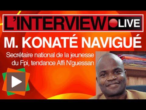 Interview  de konaté Navigué,leader de la jfpi