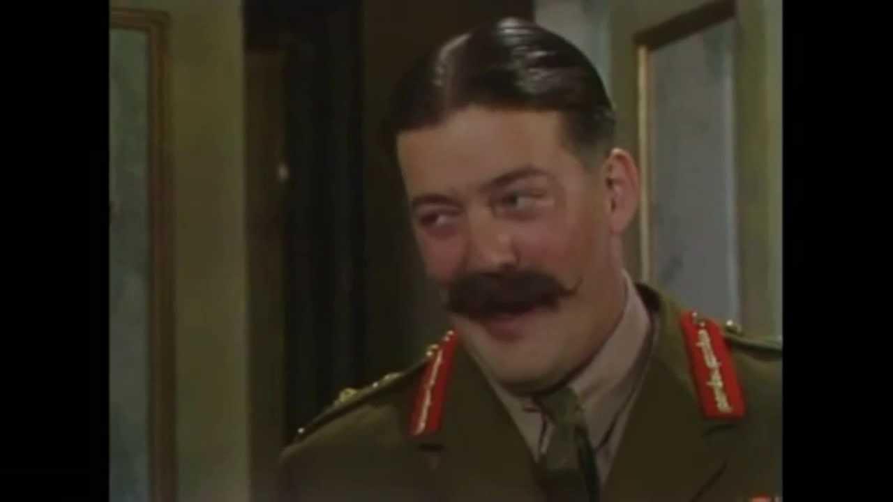 General Melchett's Baah! - YouTube