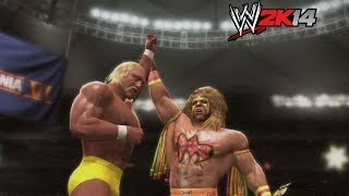 """WWE 2K14"" How-To: Hulk Hogan Vs. Ultimate Warrior At"