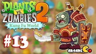 Plants Vs Zombies 2: Kung Fu World (Shaolin Temple) PVZ