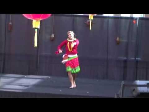 Geeta Khanal dancing on Nepali Folk Song