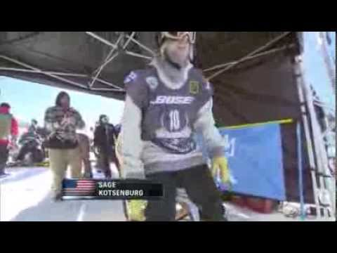 Sage Kotsenburg Wins SNB Slopestyle Final Olympic Qualifier