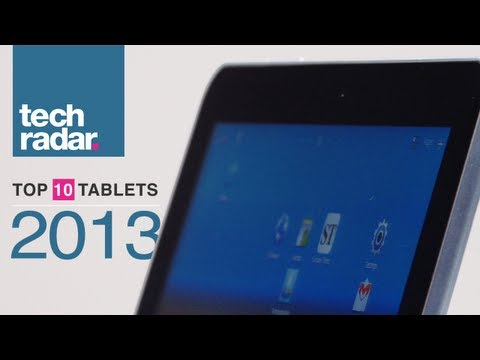 Top 10 Best Tablets - Spring 2013