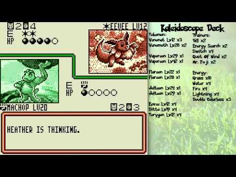 Pokemon Trading Card Game GB Walkthrough Part 2: Color Clash