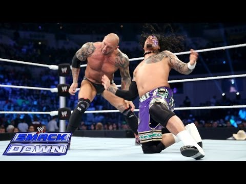 Daniel Bryan & The Usos vs. Randy Orton, Batista & Kane: SmackDown, April 11, 2014
