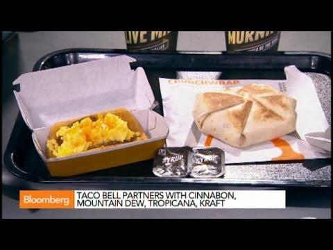 Waffle Taco Leading Taco Bell's New Breakfast Push