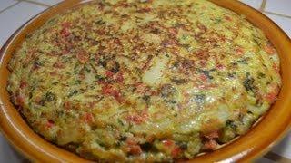 Una Tortilla Española a mi estilo