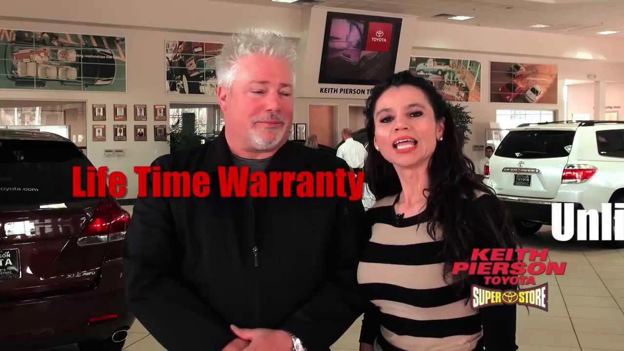 Keith Pierson Toyota- Lifetime Warranty - YouTube