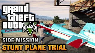 GTA 5 Stunt Plane Time Trial Challenges [100% Gold Medal