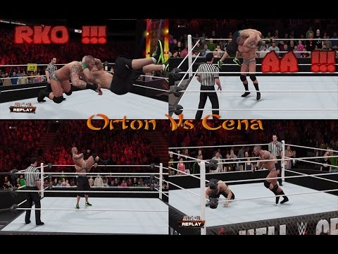 John Cena Vs Randy Orton - Hell In a Cell PPV - Epic Match Highlights - WWE 2K16