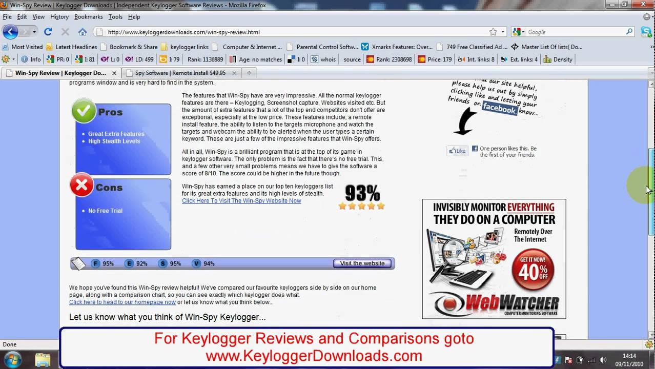 Winspy Keylogger Free