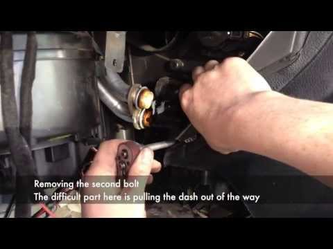 Heater Matrix Removal with dash in place Phim Video Clip