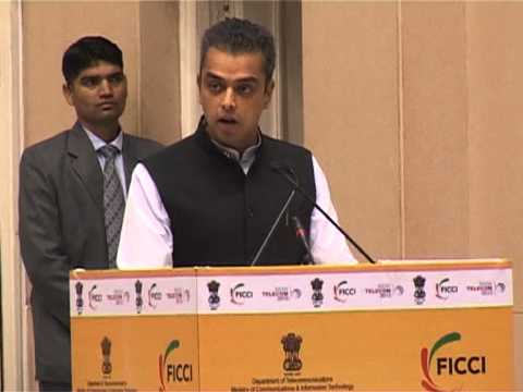 Mr. Milind Deora's Speech during the inaugural ceremony of India Telecom 2013 at Vigyan Bhawan