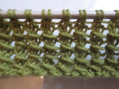 Tuto tricot apprendre a tricoter le point de bambou - Les points au tricot ...