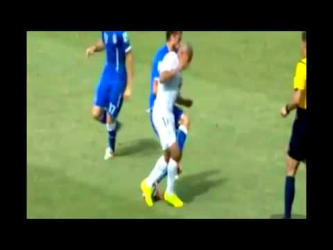 MARCHISIO RED CARD! Italy vs Uruguay 2014 analysis - World Cup Brazil 2014