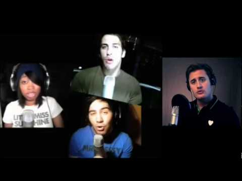 Lady Gaga Poker Face (cover) The Shures and Nick Pitera