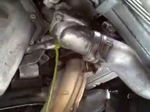 Subaru Thermostat Replacement Youtube