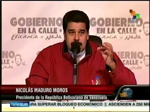Dossier. Presidente Nicolás Maduro. Venezuela condena al régimen de Israel por masacre en Gaza