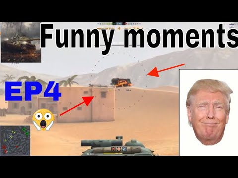 »World of tanks blitz -Funny Moments and fails EP4 (2019)