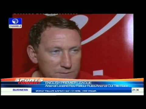 Arsenal Legend, Ray Parlour Rates Nigerian Football High