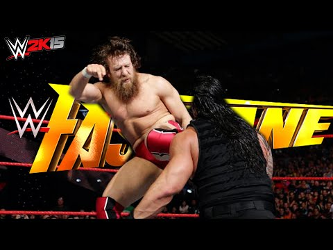 WWE Fast Lane 2015 FULL SHOW, February 22, 2015 【WWE 2K15】