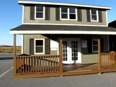 Tiny house cheap off grid two story cheap youtube for Small two story house